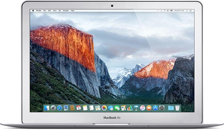 MacBook Air (13 дюймов, начало 2015 г.)