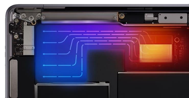 Охлаждение MacBook Air
