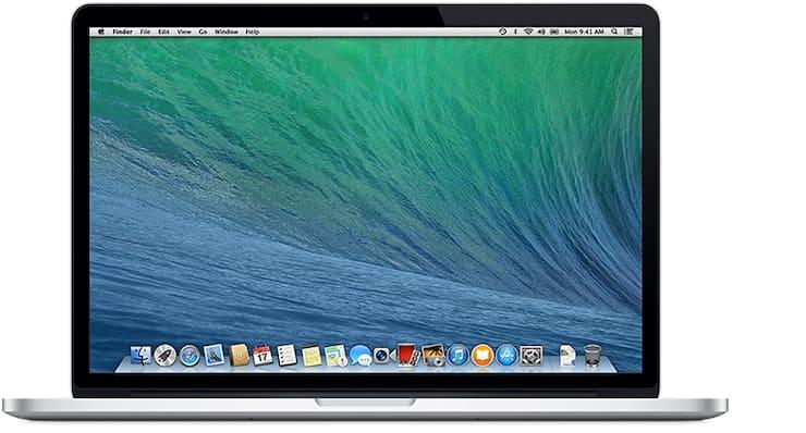 MacBook Pro (с дисплеем Retina, 15 дюймов, середина 2014 г.)