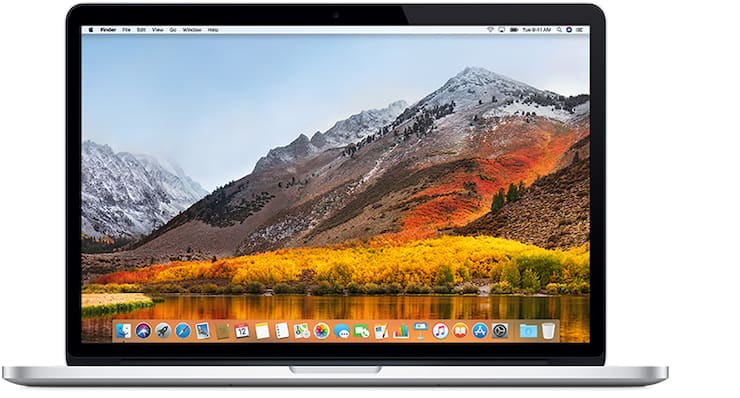 MacBook Pro (с дисплеем Retina, 15 дюймов, середина 2015 г.)