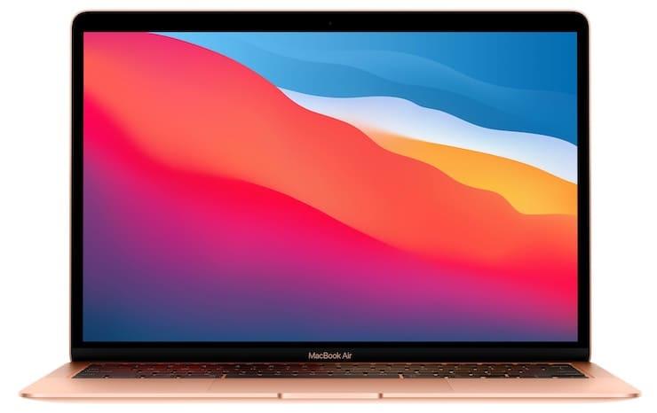 Дисплей MacBook Air (2020, Intel) и MacBook Air (2020, M1)