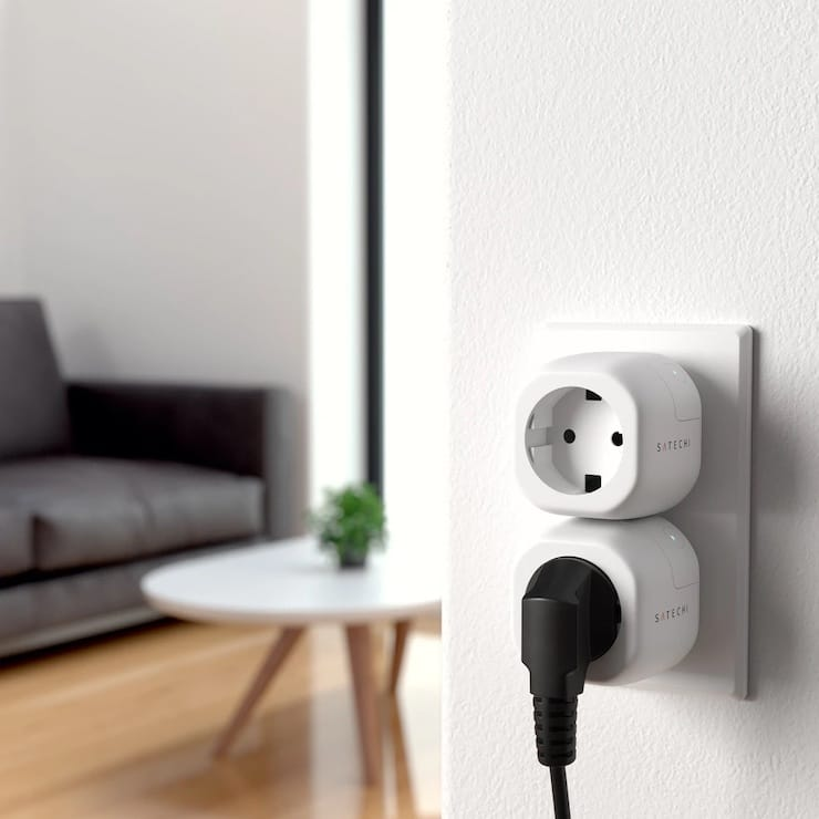 Review of Satechi Smart Outlet with Apple HomeKit support
