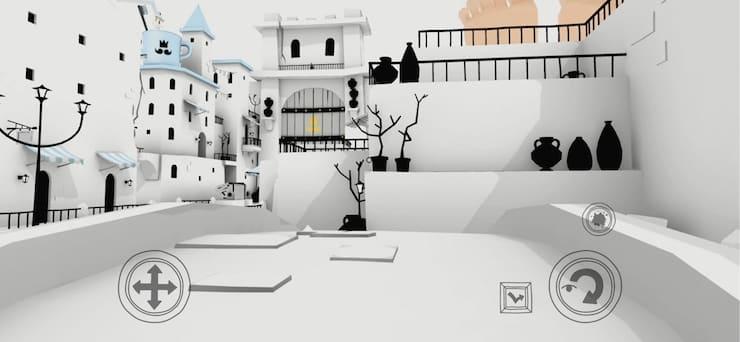 Обзор игры «Лебединый эскиз» (The Unfinished Swan) для iPhone и iPad