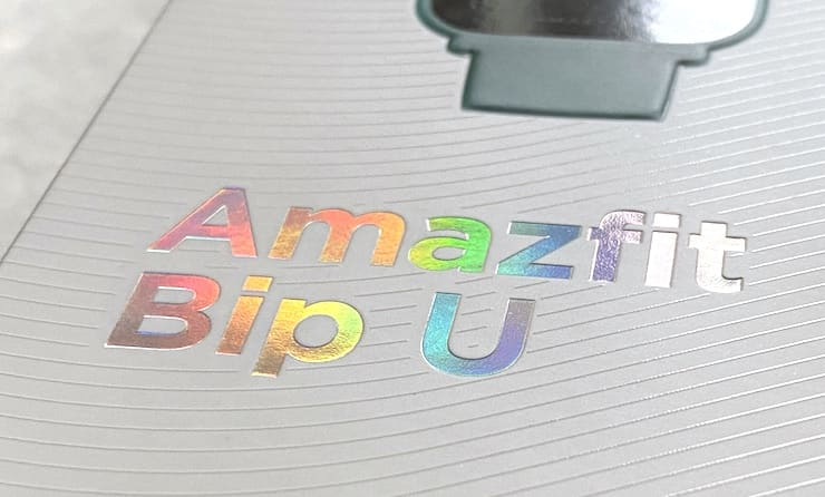 Комплект поставки Amazfit Bip U