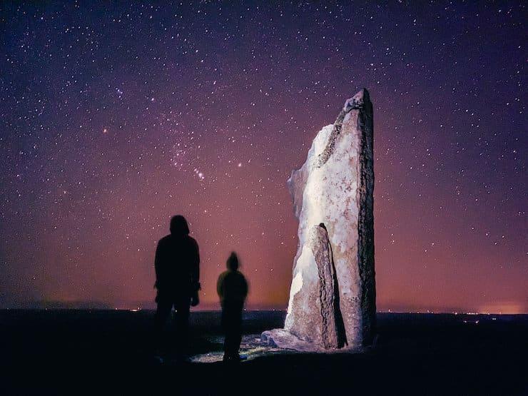 Съемка звезд в ночном режиме с применением формата ProRAW на iPhone