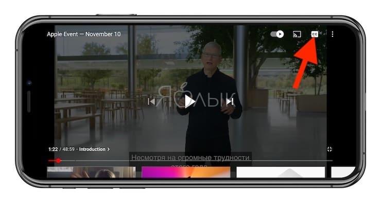 Как включать или выключать субтитры на видео в YouTube?