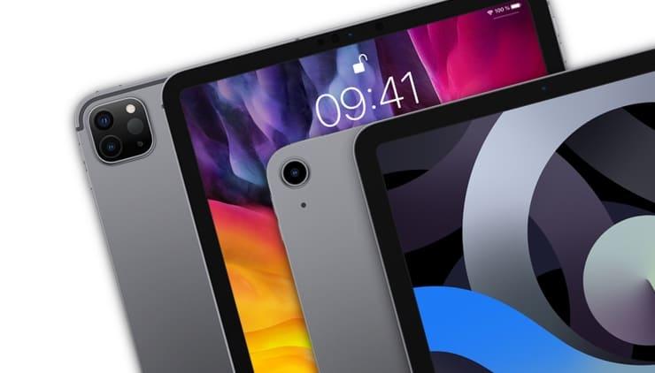 Сравнение iPad Air 4 (2020) от iPad Pro 11 дюймов (2020)