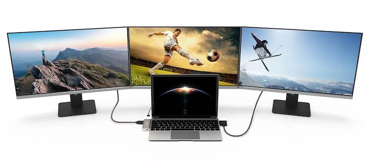 j5create JCD389 – уникальная модульная USB-C док-станция для MacBook