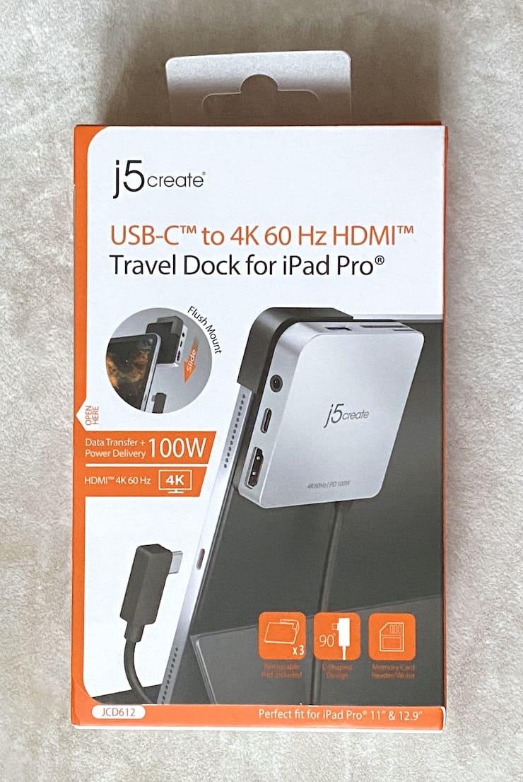 Упаковка док-станции j5create JCD612