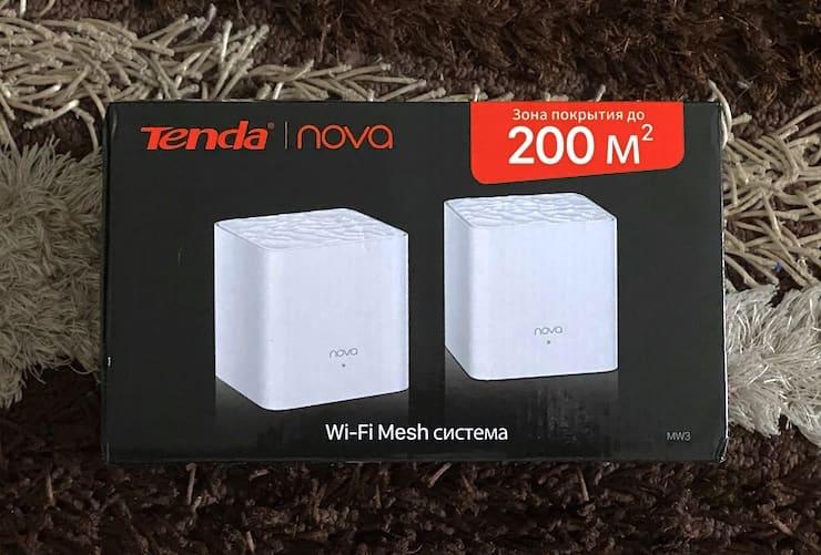 Комплектация Tenda Nova MW3