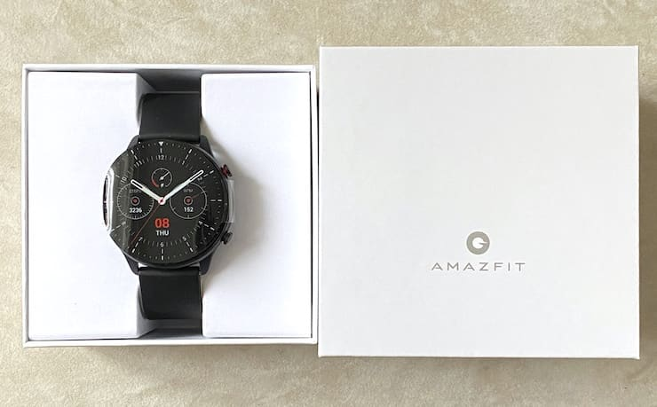 Комплект поставки Amazfit GTR 2