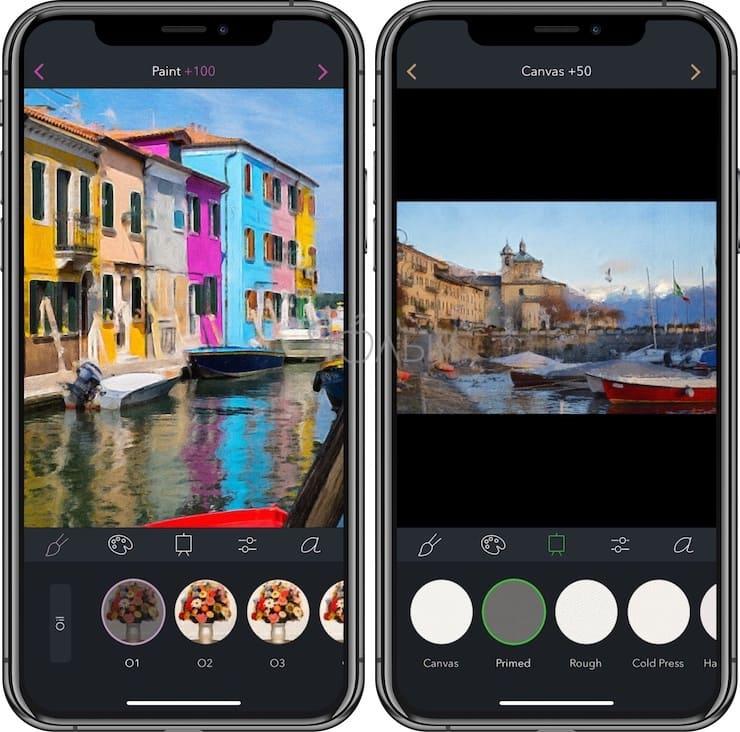 Brushstroke, или как превратить фото в картину на iPhone и iPad