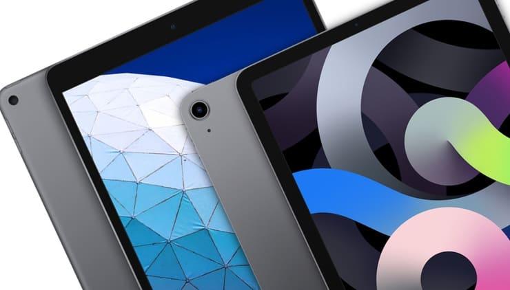Сравнение iPad Air 4 (2020) и iPad Air 3 (2019)