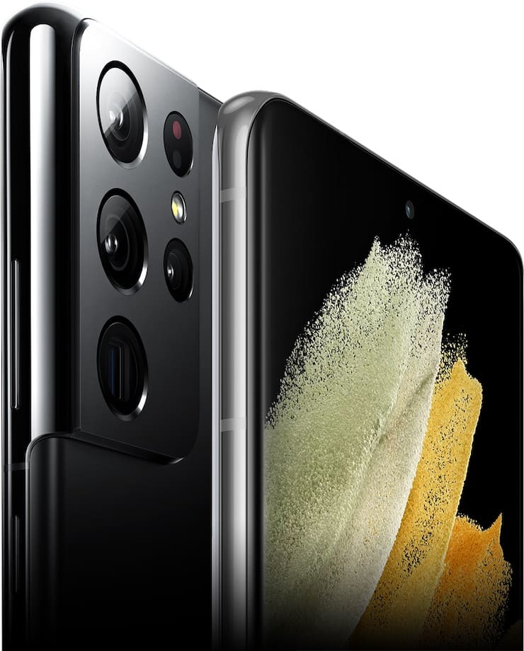 Дизайн Samsung Galaxy S21 Ultra