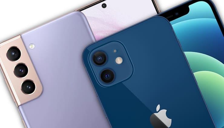 Что лучше Apple iPhone 12 или Samsung Galaxy S21
