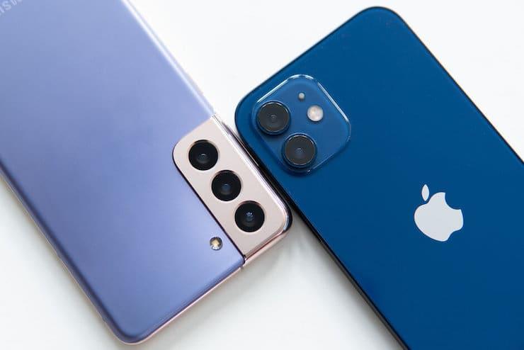 Сравнение камер Galaxy S21 и iPhone 12