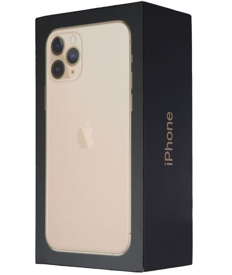 New iPhone 11 Pro box