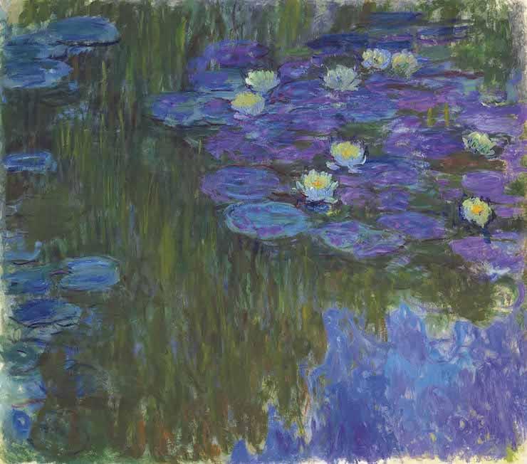 Кувшинки в цвету, Клод Моне