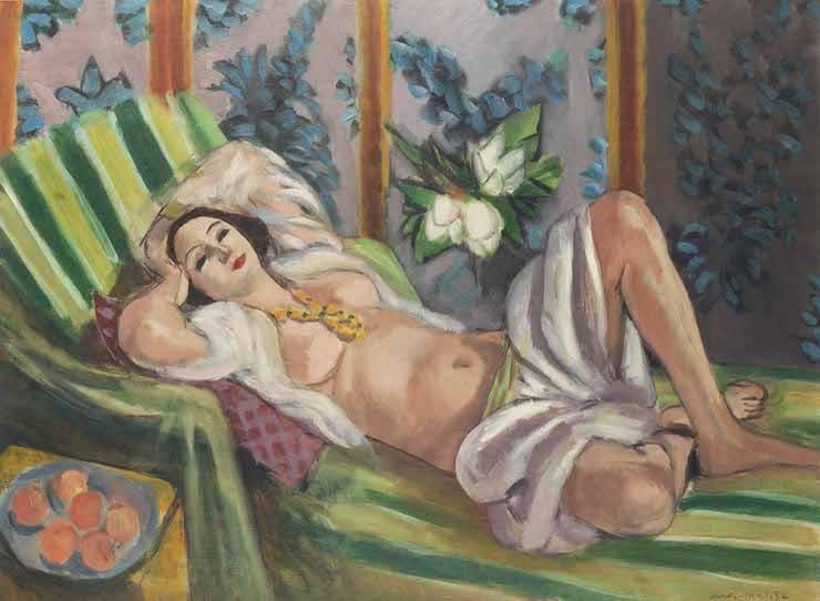 Одалиска, лежащая с магнолиями, Анри Матисс