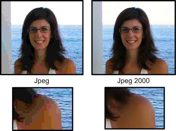 В чем отличие JPEG 2020 от JPEG?