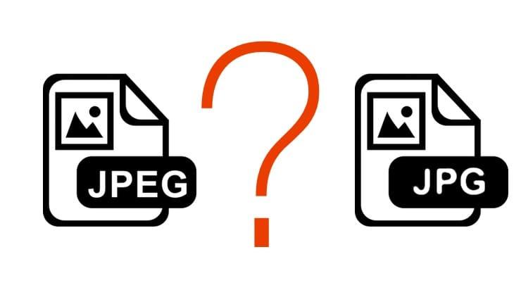 Чем отличается JPG от JPEG?