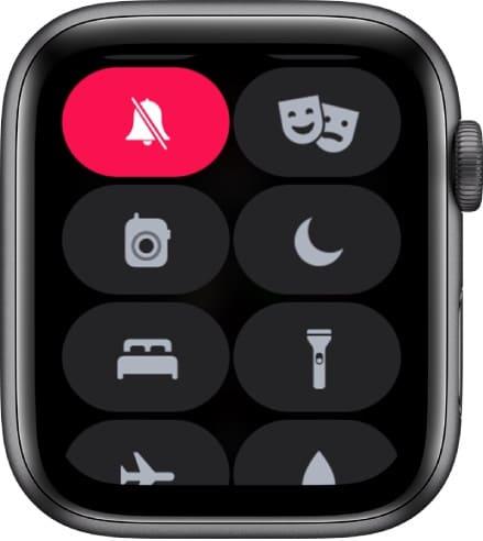 Бесшумный режим на Apple Watch