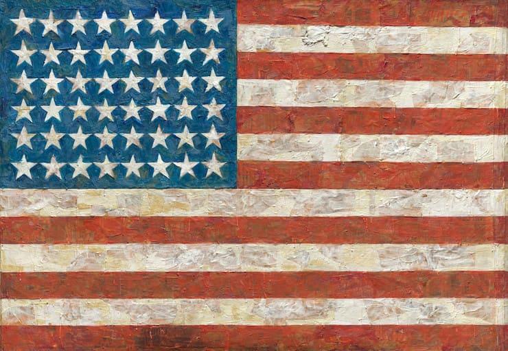 Флаг, Джаспер Джонс