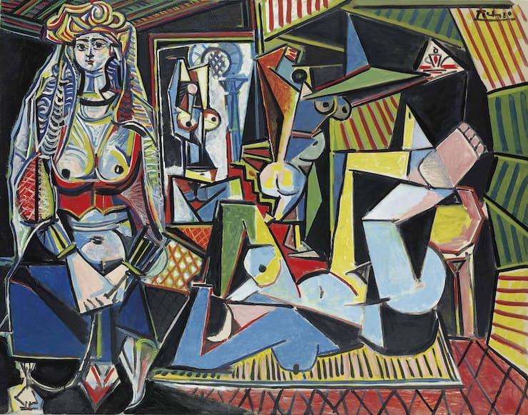 Алжирские женщины (версия «O»), Пабло Пикассо