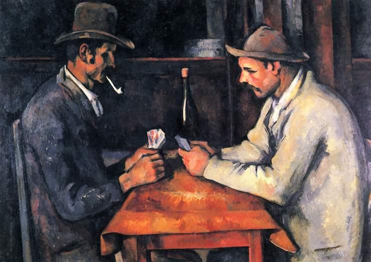 Игроки в карты (3-я картина серии), Поль Сезанн