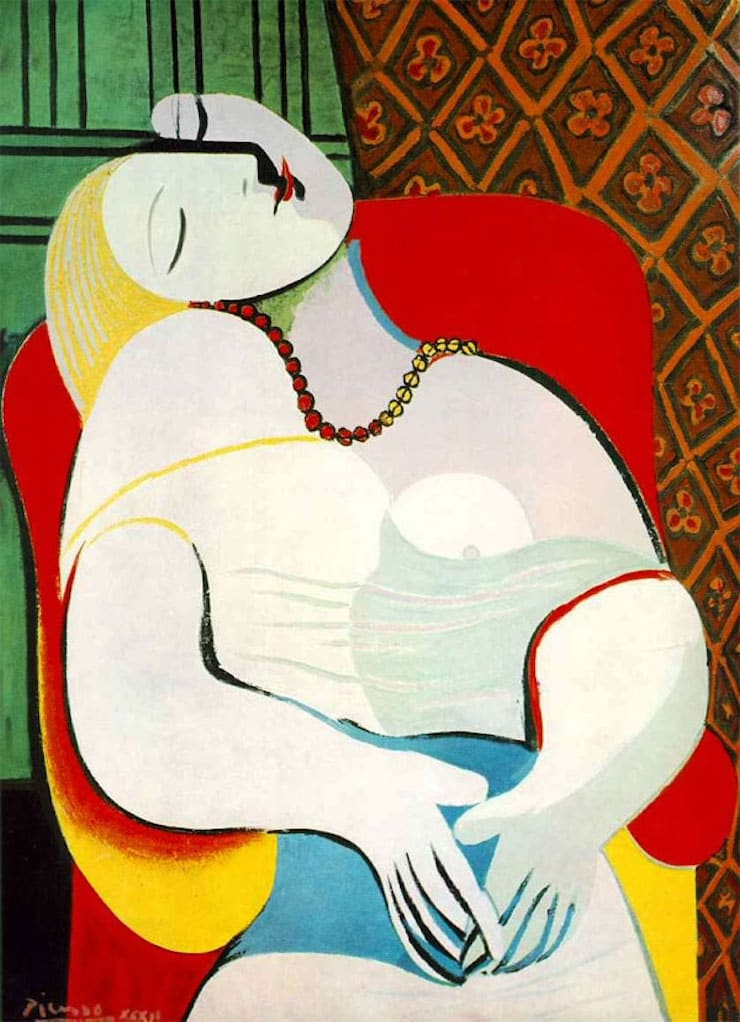 Сон, Пабло Пикассо