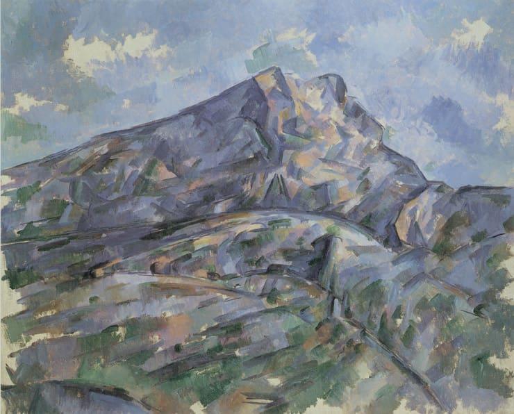Гора Сент-Виктуар, вид из рощи в Шато-Нуар, Поль Сезанн