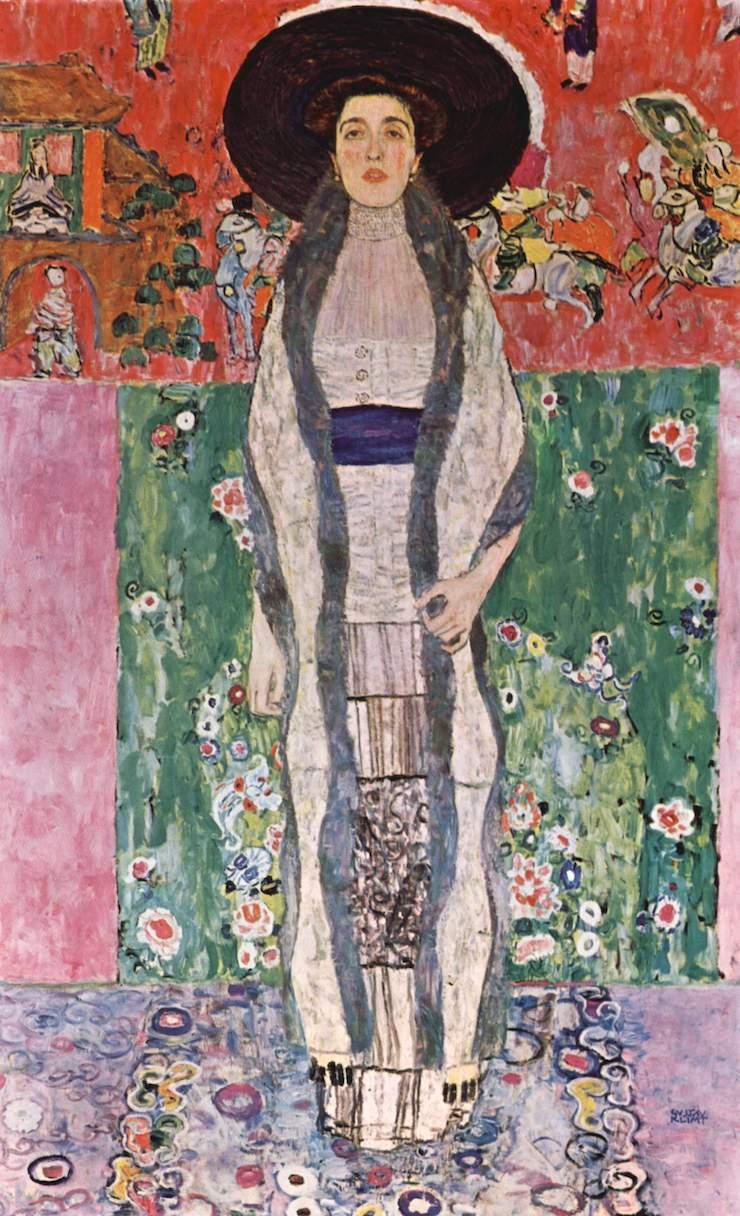 Портрет Адели Блох Бауэр II, Густав Климт