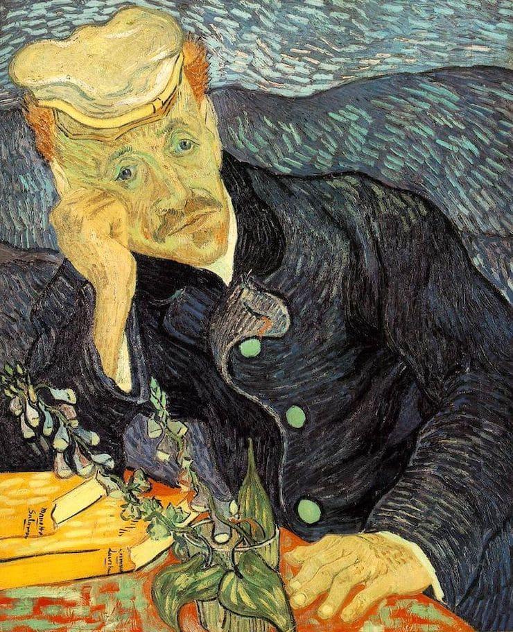 Портрет доктора Гаше, Ван Гог