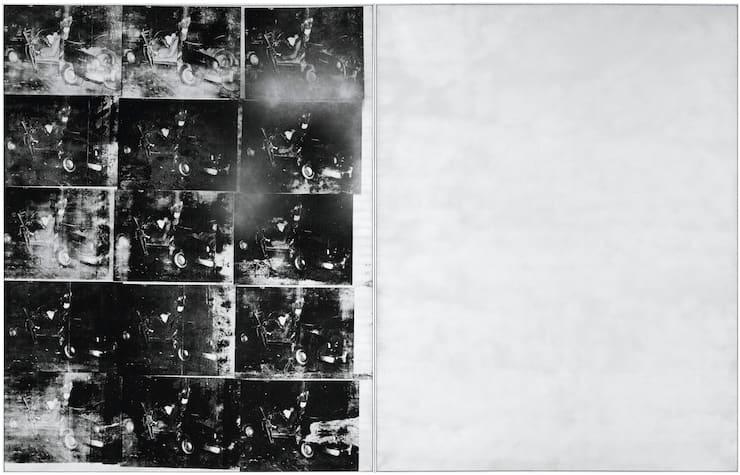 Серебряная автокатастрофа (двойная), Энди Уорхол