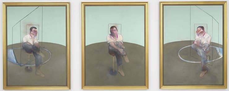 Три этюда к портрету Джона Эдвардса, Френсис Бэкон