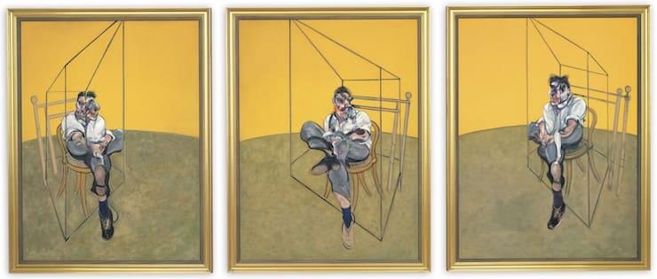 Три наброска к портрету Люсьена Фрейда, Френсис Бэкон