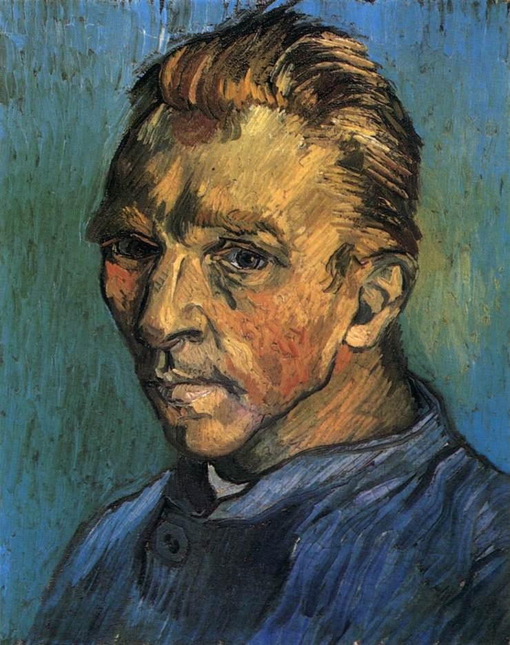 Портрет художника без бороды, Ван Гог