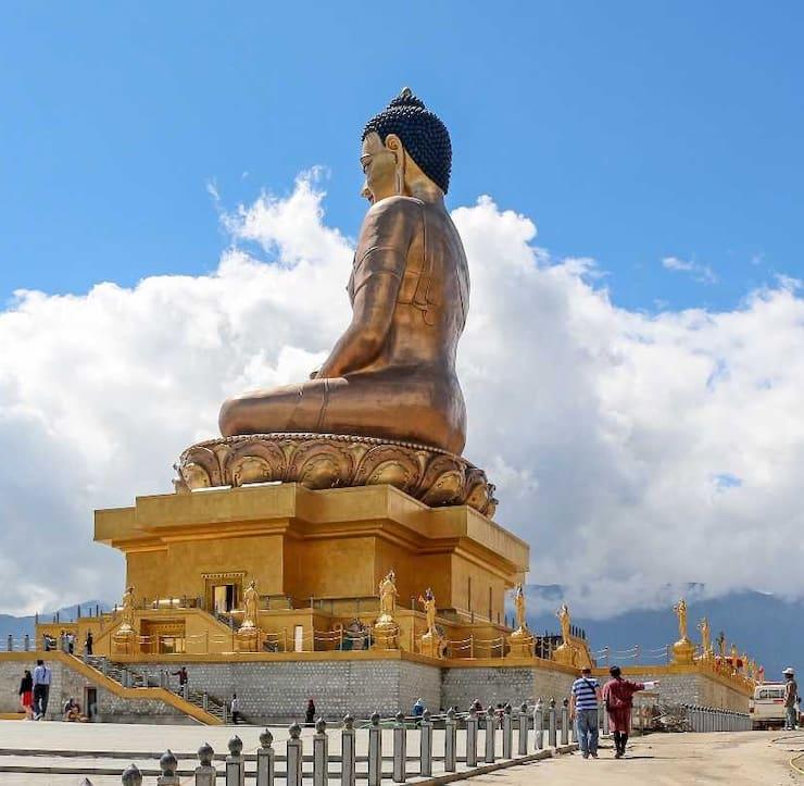 Будда Дорденма, 51 метр, Бутан