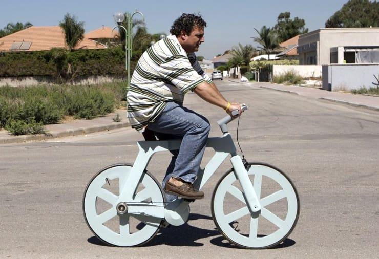 Картонный велосипед