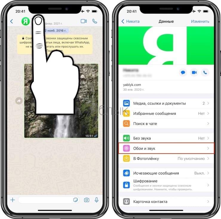 Как в WhatsApp узнать по звуку, кто написал