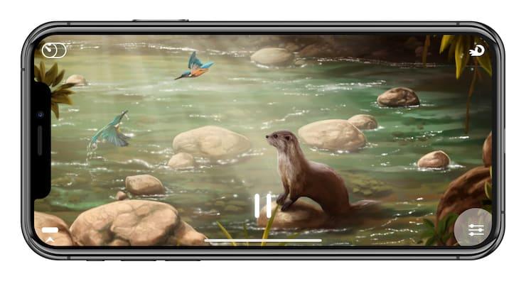Flowing для iPhone и iPad: звуки природы для релаксации и медитации