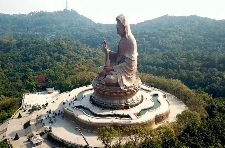 Статуя Гуань Инь, 62 метра, Китай