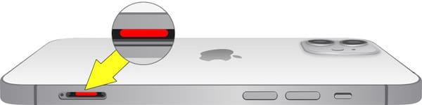 Где находится датчик влаги (воды) на iPhone 12
