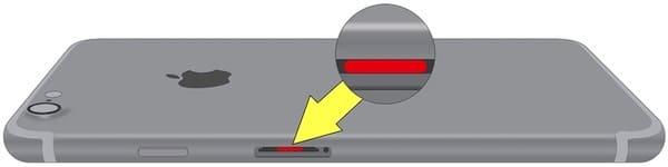 Где находится датчик влаги (воды) на iPhone 7