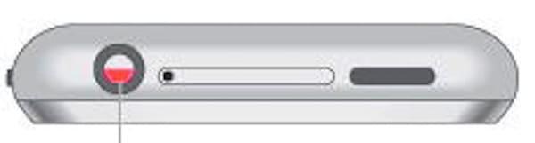 Где находится датчик влаги (воды) на iPhone 2g