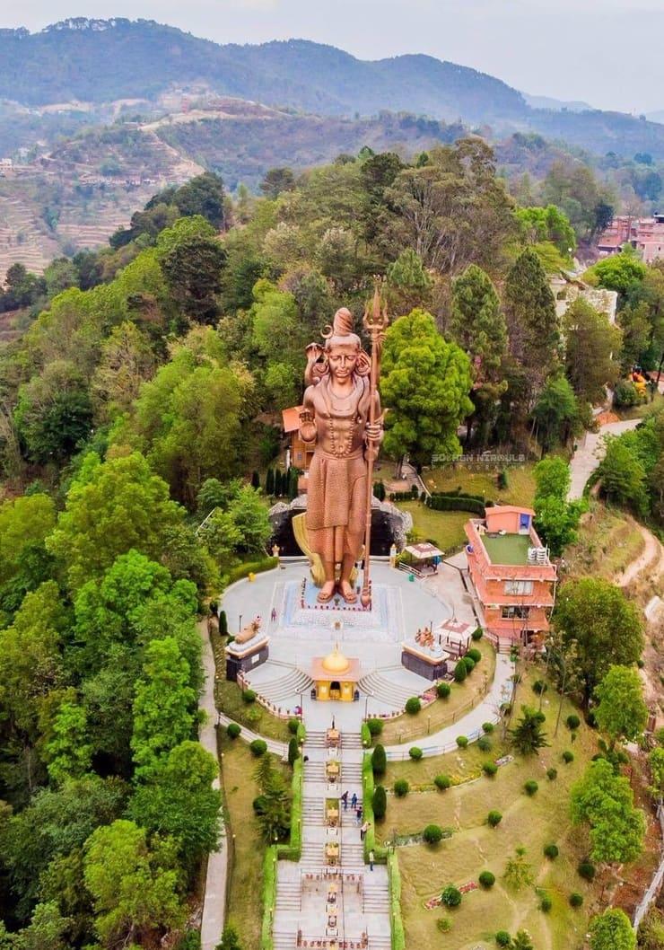 Статуя Кайлашнатха Махадевы, 43 метра, Непал