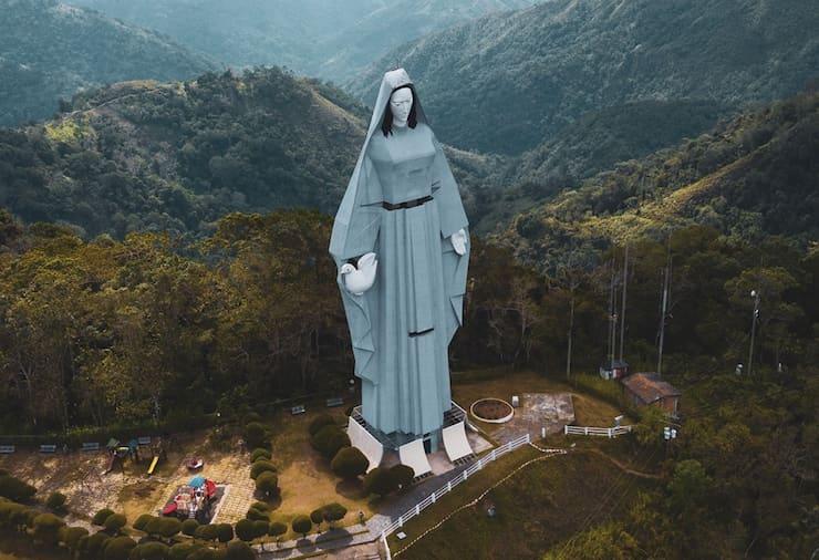 Статуя Девы Марии в Трухильо, 48 метров, Венесуэла