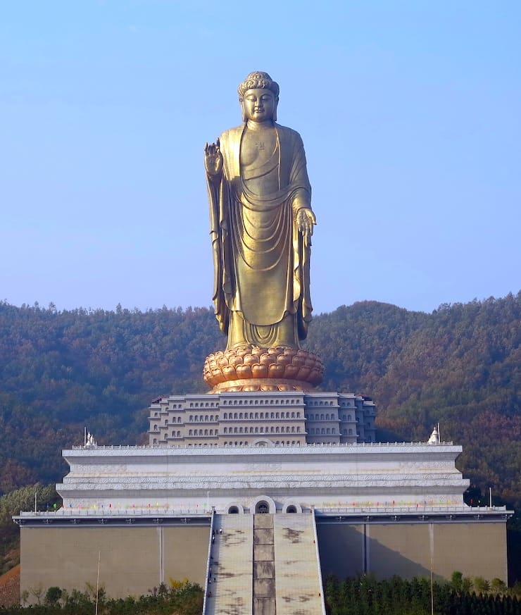 Чжунъюаньская статуя Будды, 108 метров, Китай
