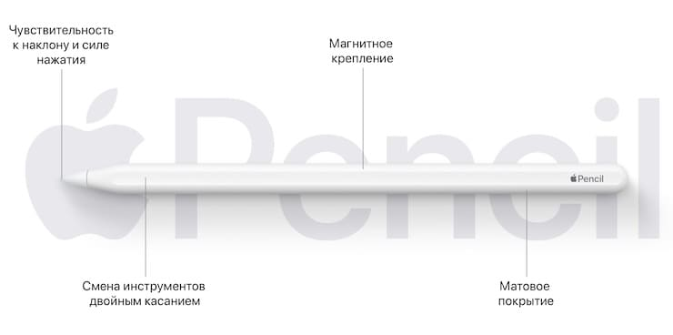 Apple Pencil второго поколения