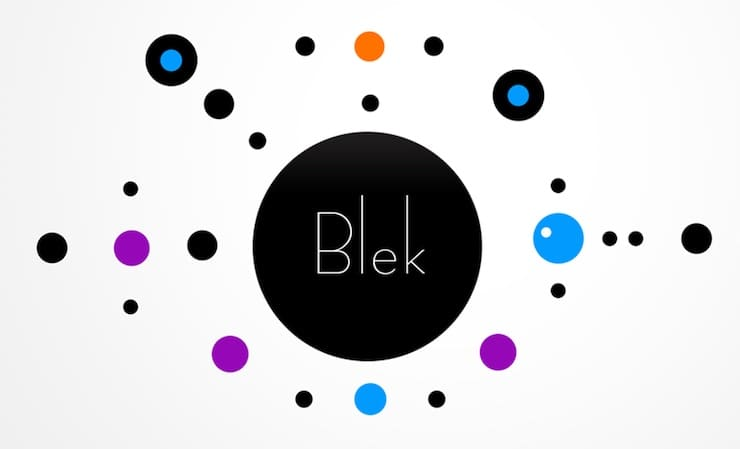 Игра Blek для iPhone и iPad – шедевр минимализма